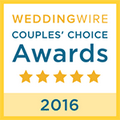 WeddingWire Couple's Choice Awards 2016