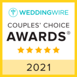 WeddingWire Couples Choice Award 2021
